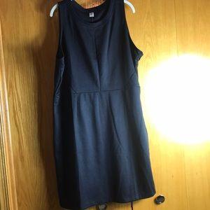 Black Sleeveless Dress.  Old Navy